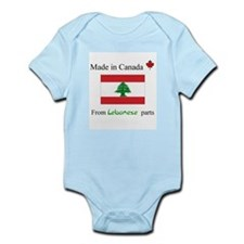 Made in Canada from Lebanese Parts Onesie