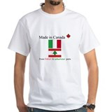 Made in Canada From Italian and Lebanese Parts Whi