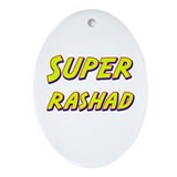 Super rashad Oval Ornament