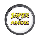 Super raquel Wall Clock