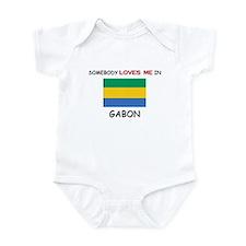 Somebody Loves Me In GABON Infant Bodysuit