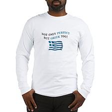 Perfect Greek 2 Long Sleeve T-Shirt