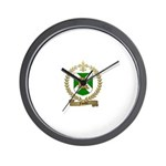 FAVAUX Family Crest Wall Clock