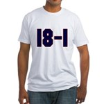 18 and 1 Fitted T-Shirt