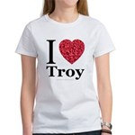 I Love Troy Women's T-Shirt