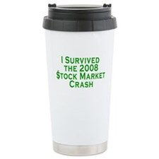 Stock Market Crash Travel Mug