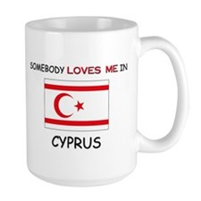 Somebody Loves Me In CYPRUS Mug
