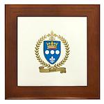 DUPUY Family Crest Framed Tile