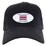 Somebody Loves Me In COSTA RICO Baseball Hat