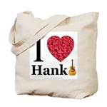 I Love Hank Tote Bag