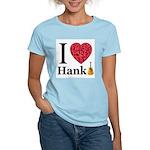 I Love Hank Women's Pink T-Shirt