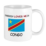 Somebody Loves Me In CONGO Mug