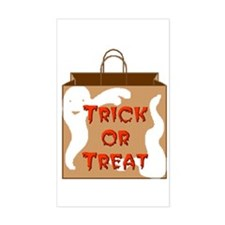 Trick or Treat Bag Rectangle Decal