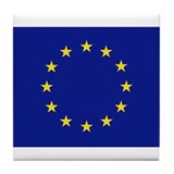Flag of the European Union Tile Coaster