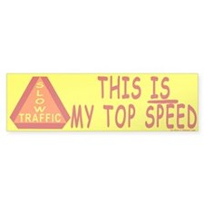 Slow Driver Bumper Bumper Sticker
