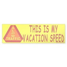 Vacation Bumper Bumper Sticker