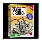 Credit Crunch Tile Coaster