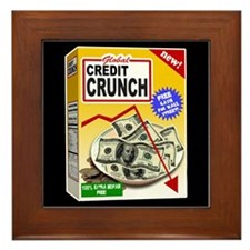 Credit Crunch Framed Tile