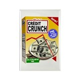 Credit Crunch Rectangle Magnet (100 pack)