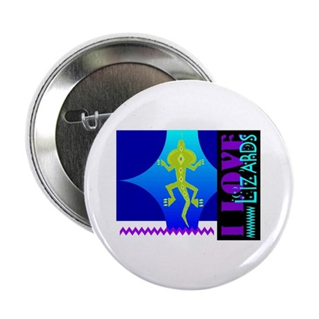 "I Love Lizards 2.25"" Button (10 pack)"