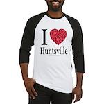 I Love Huntsville Baseball Jersey