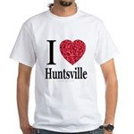I Love Huntsville White T-Shirt