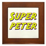 Super peter Framed Tile