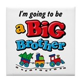 Choo Choo Big Brother Tile Coaster
