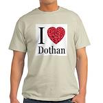 I Love Dothan Ash Grey T-Shirt
