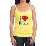 I Love Dothan Jr. Spaghetti Tank