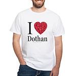 I Love Dothan White T-Shirt