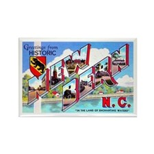 New Bern North Carolina Rectangle Magnet