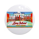 Jones Beach Long Island Ornament (Round)