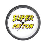 Super payton Wall Clock