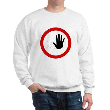 Restricted Access Sign Sweatshirt