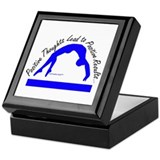 Gymnastics Keepsake Box - Positive