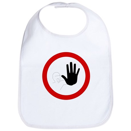 Restricted Access Sign - Bib
