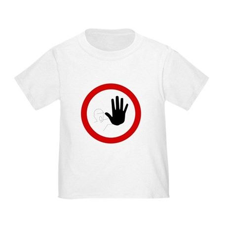 Restricted Access Sign - Toddler T-Shirt