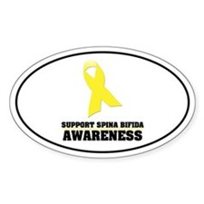 SB Awareness Oval Sticker (10 pk)