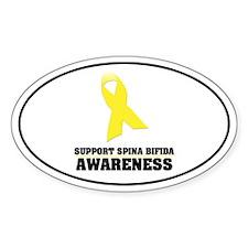 SB Awareness Oval Sticker (10 pk)