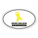 SB Awareness Oval Sticker (50 pk)