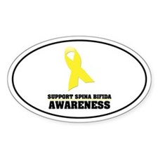 SB Awareness Oval Decal