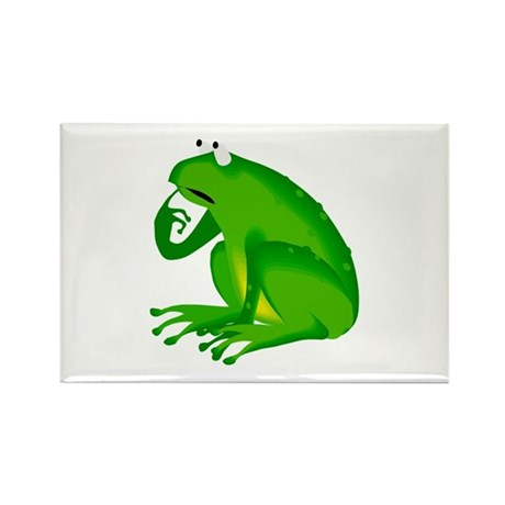 Frog Rectangle Magnet
