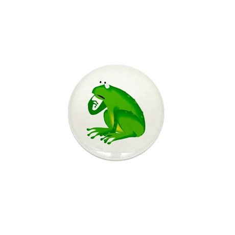Frog Mini Button (10 pack)