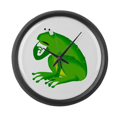 Frog Large Wall Clock