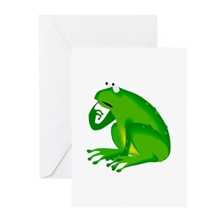 Frog Greeting Cards (Pk of 20)