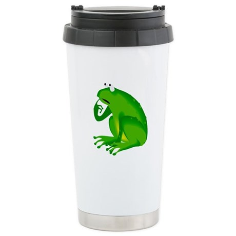 Frog Ceramic Travel Mug