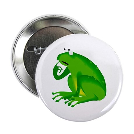 "Frog 2.25"" Button (100 pack)"