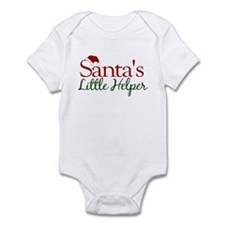 Santa's Little Helper Infant Bodysuit