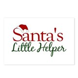 Santa's Little Helper Postcards (Package of 8)